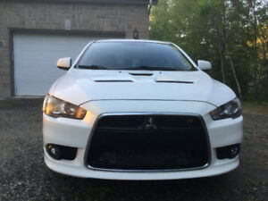 2010 Mitsubishi Lancer Ralliart, WOW, Quebec plated, $7900