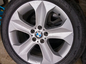 BMW Mags and Tire 255/50R19 Bolt pattern 5X120