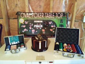 Poker Table & Accessories