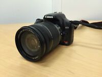 Used Canon EOS Rebel Xsi with 18-200MM lens