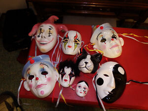 Decorative Porcelain Wall Masks