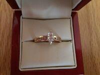 18ct Gold Marquise Cut Diamond Ring
