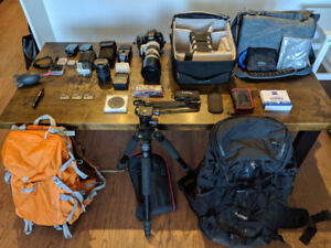 Canon 7D Mark II Photography Package + Lenses + More