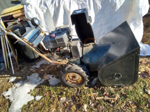 Snowblower - Cub Cadet - ugly but works!