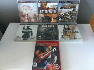 Assassins Creed, Battlefield, Call of Duty, Specs Ops...