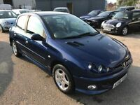Peugeot 206 Verve 1.4 5 Door *2 Former Keepers* Air Conditioning, 12 Month Mot, 3 Month Warranty