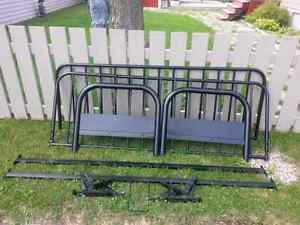BRAND NEW NEVER USED OR PUT TOGETHER  FUTON FRAME