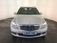 2009 MERCEDES-BENZ C200 ELEGANCE CDI DIESEL ESTATE SERVICE HISTORY FINANCE PX