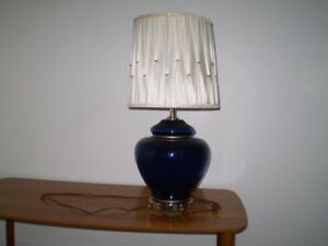 "Table lamp 28"" Height , Shade height is 12"""