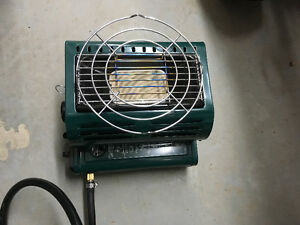 Propane and butane Heater/cooker for camping and ice fishing