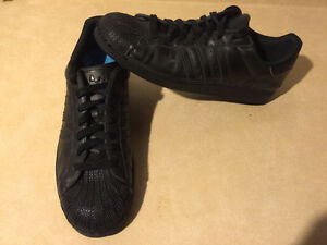 Men's Black Adidas Sport Shoes Size 14