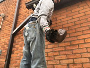 M & D roof repair & eaves trough cleaning