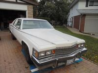 1978 Cadillac Coupe DeVille $1500 or best offer