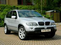 2006 56 BMW X5 3.0 d Sport 5dr EXCLUSIVE EDITION WITH BIG SPEC & FSH