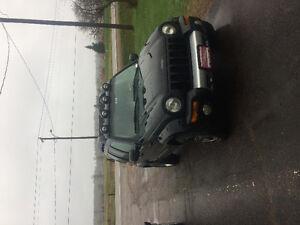 2003 Jeep Liberty Black SUV, Crossover