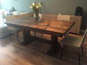 Custom Harvest Tables Console Coffee And More