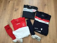 Lochend Boys Football Kit x 2 size small (12yrs approx)