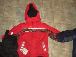 Red Winter jacket and snow pants  3T Kitchener / Waterloo Kitchener Area image 2