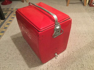 Vintage Cola Cooler Collectible