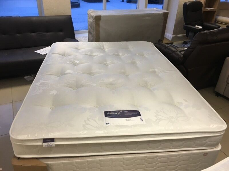 Brand New Silentnight King Size Divan Bed And Miracoil Mattress In Rochdale Manchester Gumtree