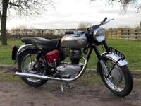 Royal Enfield Crusader 1961 250cc. Classic British Motorcycle