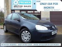 2008 VOLKSWAGEN GOLF 1.4 S, 1 PREVIOUS OWNER, LOW INSURANCE, IDEAL FIRST CAR!