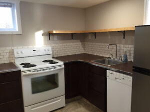 $750 + util for newly reno'd 1-Bedroom Lower Level Suite
