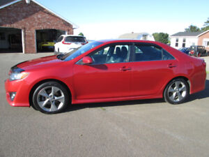 2012 TOYOTA CAMRY SE  TRADE WELCOME