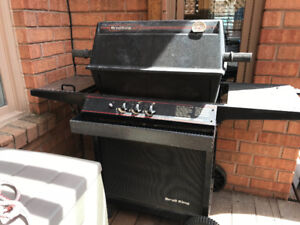 Broil king regal bbq with side burner works well