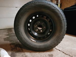 265/70R17 X-Treme Avalanche Winter Tires on Steel Rims