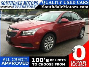2011 CHEVROLET CRUZE 1LT * POWER GROUP * PREMIUM CLOTH SEATING * London Ontario image 1