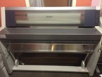 Epson Stylus Pro 9000 large format printer with CISS
