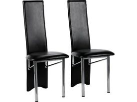 Set of 4 Savannah Dining Chairs new in boxes.