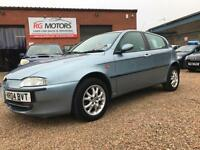 2004(04) Alfa Romeo 147 1.9 JTD 8v Lusso Blue 5dr Hatch, **ANY PX WELCOME**