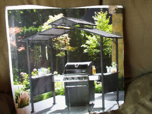 NEW CANADIAN GRILLING GAZEBO 8' X 5' , NEVER UNWRAPPED