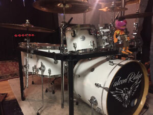 PEARL DR-80 DRUM RACK WITH EXTRA CLAMPS