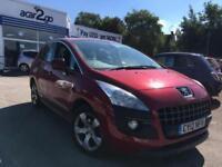 2012 Peugeot 3008 ACTIVE Manual Hatchback