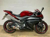 YAMAHA YZF R125 2014 MK2 GOOD CONDITION NEW MOT ONLY 12K RIDES GREAT