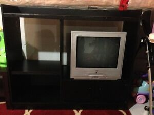 TV & DVD Combo with cabinet