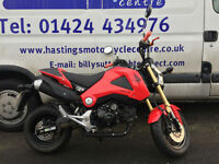 Honda MSX125 / Grom 125 / Learner Legal Mini Street Fighter / Serviced + M.O.T!