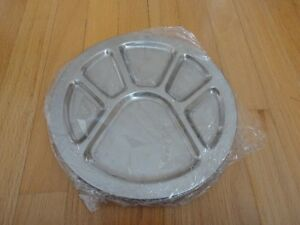 Brand new stainless steel platter plates serving plates London Ontario image 4