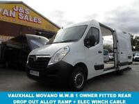 2013 13 VAUXHALL MOVANO 2.3 F3500 L2H2 CDTI 1D 125 BHP M.W.B FIITED WITH RARE DR