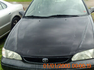 parting out 1998 toyota corolla plus others