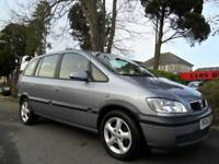 VAUXHALL ZAFIRA 1.6i 2004 7 SEATER COMPLETE WITH M.O.T HPI CLEAR