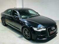 AUDI A6 QUATTRO S LINE 3.0 V6 TDI 245 S-TRONIC AUTO BLACK 2012 4 DOOR DIESEL