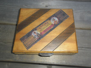Vintage marbles and box