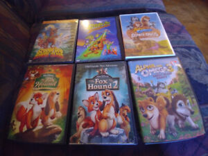Kid's Movie DVDs For Sale ($3 each or all for $15)