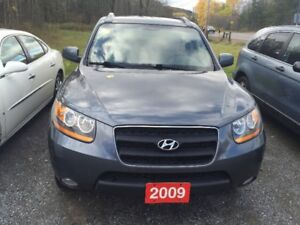 09 SANTA FE CERT TAXS WARRANTY ALL INCL IN PRICE 9040.00