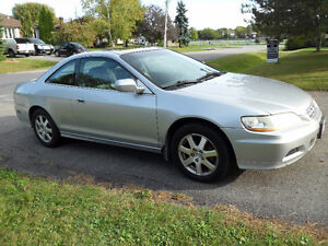 2001 HONDA ACCORD LOADED POWER SUN ROOF LEATHER