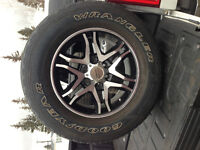 American Racing rims with tires 275/65R18